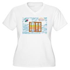 Door to the sky Plus Size T-Shirt
