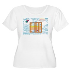 Door to the sky Plus Size T-Shirt
