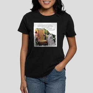 Samoyed Art Women's Dark T-Shirt