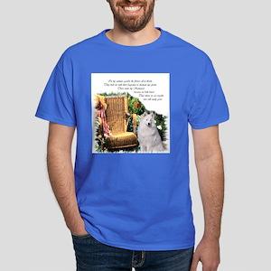 Samoyed Art Dark T-Shirt