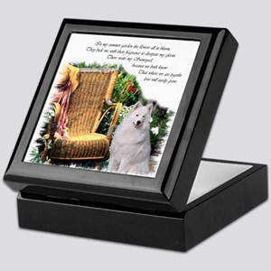Samoyed Art Keepsake Box