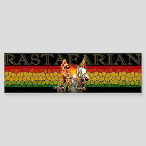 Reggae Rastafarian Bumper Sticker