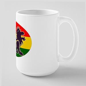 Reggae Rastafarian Large Mug