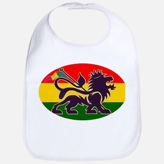 Reggae Rastafarian Bib