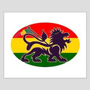 Reggae Rastafarian Small Poster