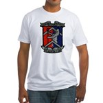 USS BREWTON Fitted T-Shirt