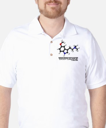 Tryptamine Golf Shirt