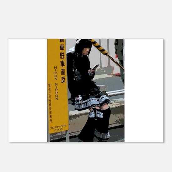 Telephone Otaku Postcards (Package of 8)