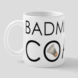 Badminton Coach Mug