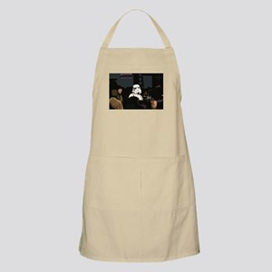 Turn that frown... BBQ Apron