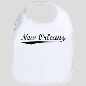 Vintage New Orleans (Black) Bib