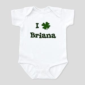 I Shamrock Briana Infant Bodysuit