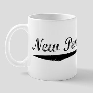 Vintage New Port R.. (Black) Mug