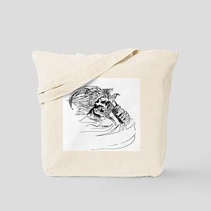 Ankou Ghost Skulls Tote Bag