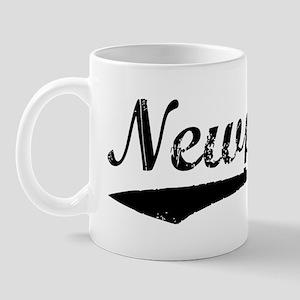 Vintage Newport (Black) Mug
