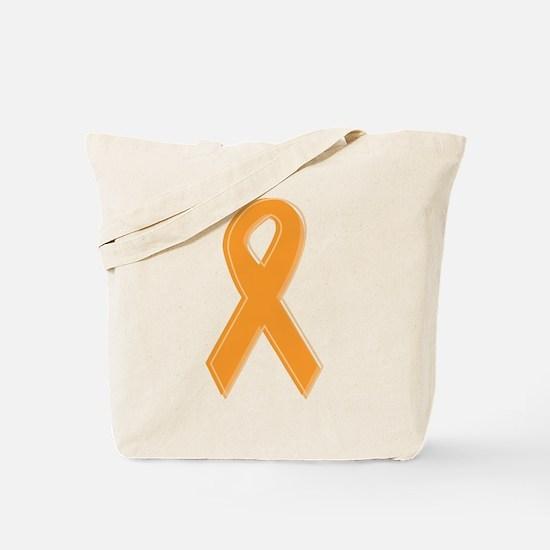 Orange Aware Ribbon Tote Bag