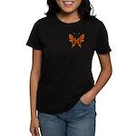 'Butterfly Tattoos Women's Dark T-Shirt