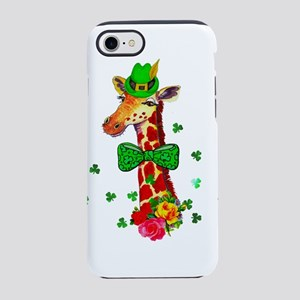St. Patrick's Day Giraffe iPhone 8/7 Tough Case