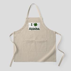 I Shamrock Alisha BBQ Apron