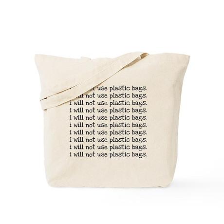 Bad Little Plastic Tote Bag
