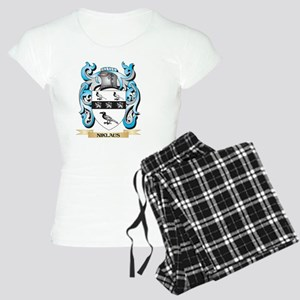 Niklaus Coat of Arms - Family Crest Pajamas