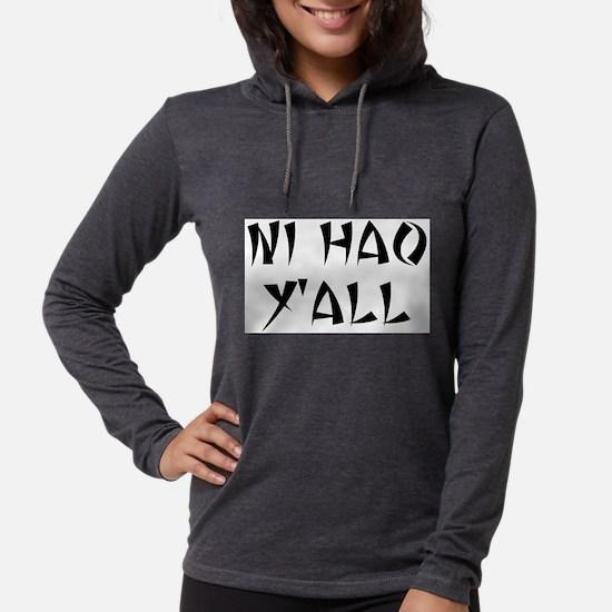 NI HAO Y'AL Long Sleeve T-Shirt