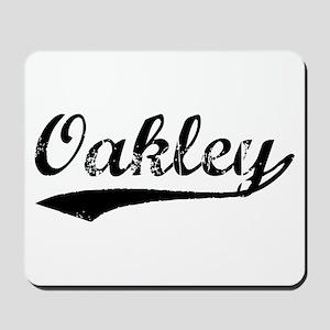 Vintage Oakley (Black) Mousepad