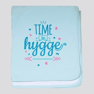 time to hygge baby blanket