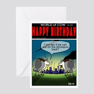 Can we have the dinosaurs back? Greeting Card
