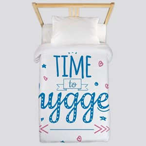 time to hygge Twin Duvet Cover
