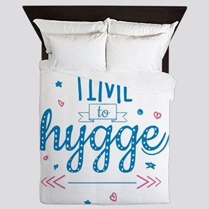 time to hygge Queen Duvet
