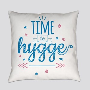 time to hygge Everyday Pillow