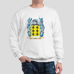 Nin Coat of Arms - Family Crest Sweatshirt