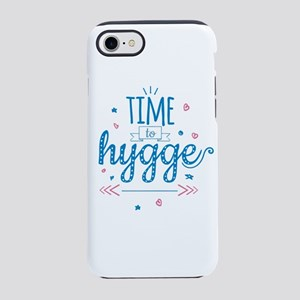 time to hygge iPhone 8/7 Tough Case