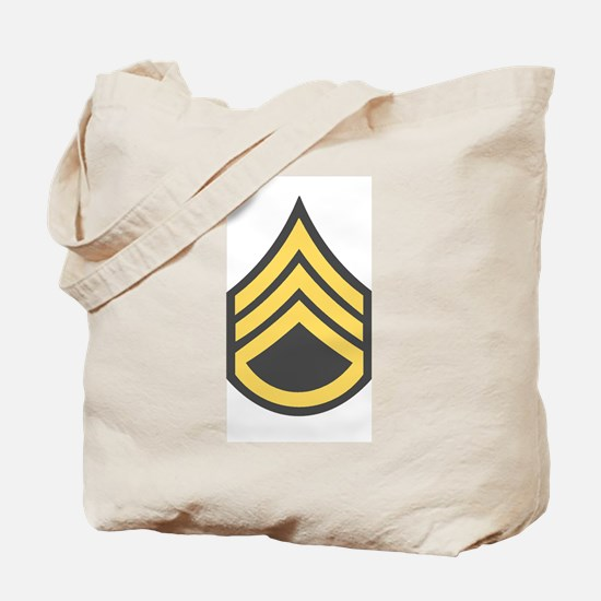 Staff Sergeant Tote Bag 1