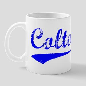 Vintage Colton (Blue) Mug