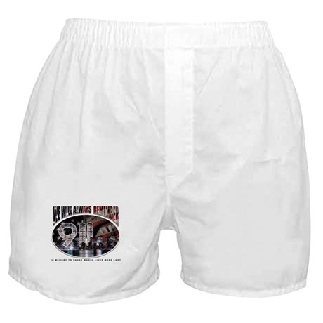 We Will Always Remember 911 Boxer Shorts