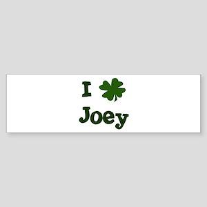 I Shamrock Joey Bumper Sticker