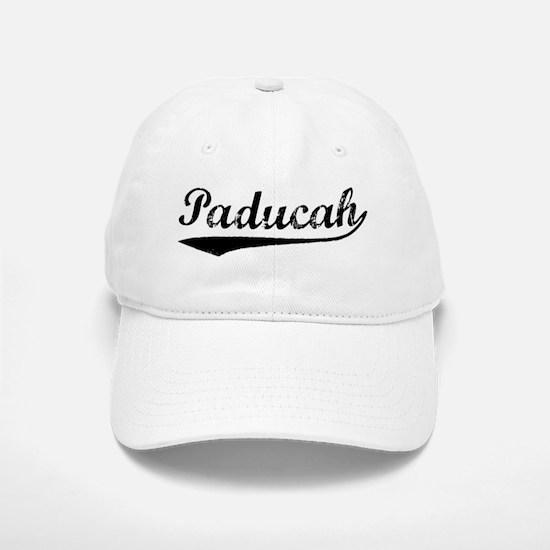 Vintage Paducah (Black) Baseball Baseball Cap