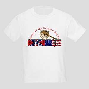 Gettysburg - Home Of The The Kids Light T-Shirt