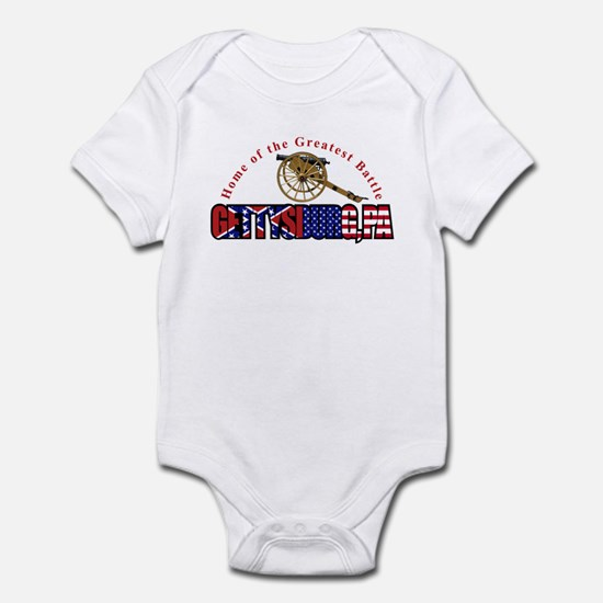 Gettysburg - Home Of The The Infant Bodysuit