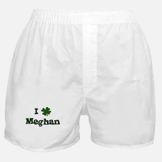 I Shamrock Meghan Boxer Shorts