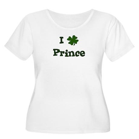 I Shamrock Prince Women's Plus Size Scoop Neck T-S