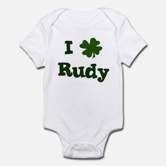 I Shamrock Rudy Infant Bodysuit