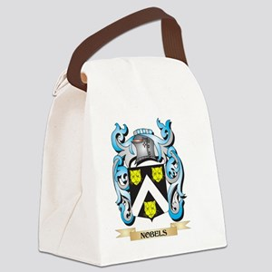 Nobels Coat of Arms - Family Cres Canvas Lunch Bag
