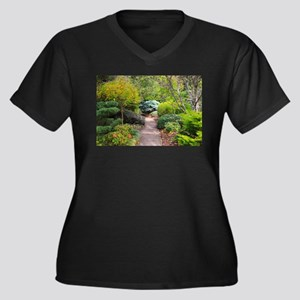 Path to tranquility Plus Size T-Shirt