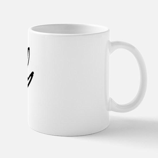 Vintage Pearl (Black) Mug