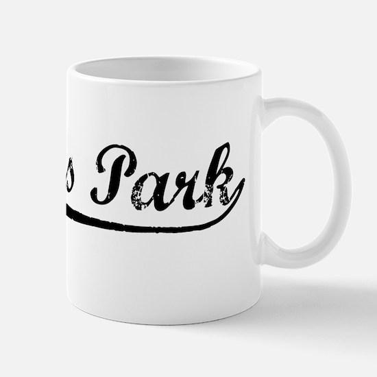 Vintage Pinellas P.. (Black) Mug