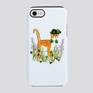 St. Patrick's Day Cat iPhone 8/7 Tough Case