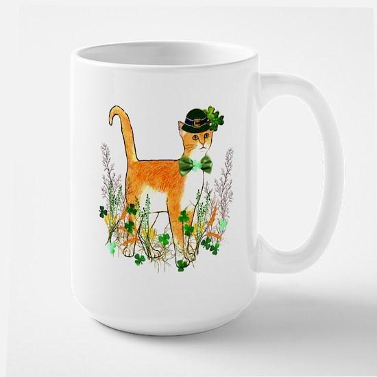 St. Patrick's Day Cat Mug